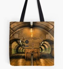 Cyclists I Pedestrians(filtered) Tote Bag