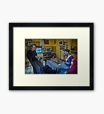 Ian and Anthony Framed Print
