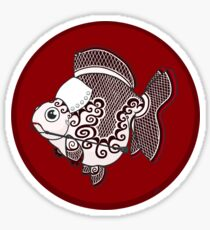 Goldfish Irene Adler Sticker