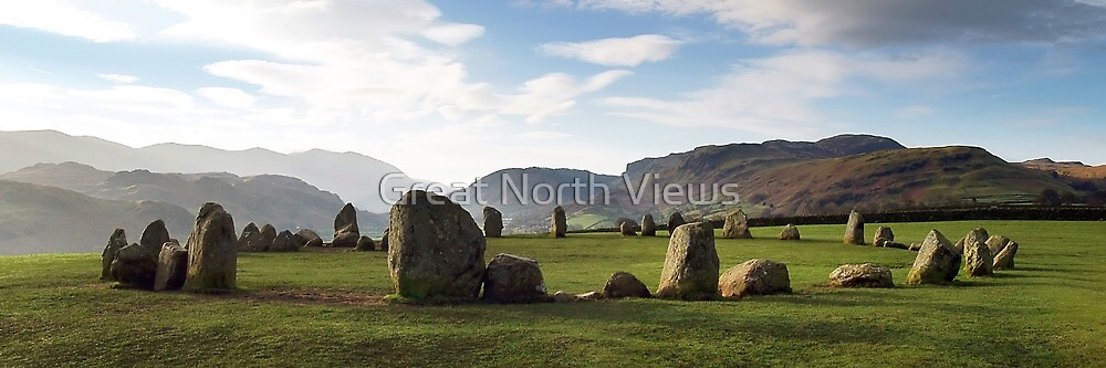 Castlerigg Stone Circle by Great North Views