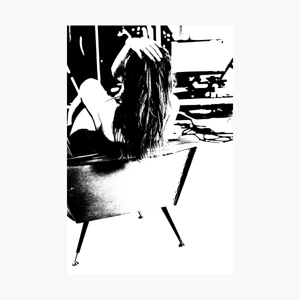 abstract model Photographic Print