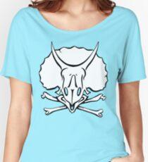 Dino Crossbones Women's Relaxed Fit T-Shirt