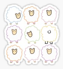 sheep by BLANKTOBAM Sticker