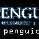 Penguicon's small bumper sticker by Penguicon