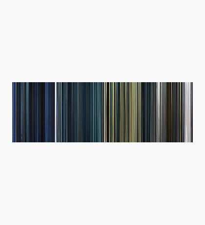 Moviebarcode: The Complete Resident Evil (2002-2010) Photographic Print