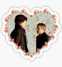 Johnlock- Heart (One) Sticker