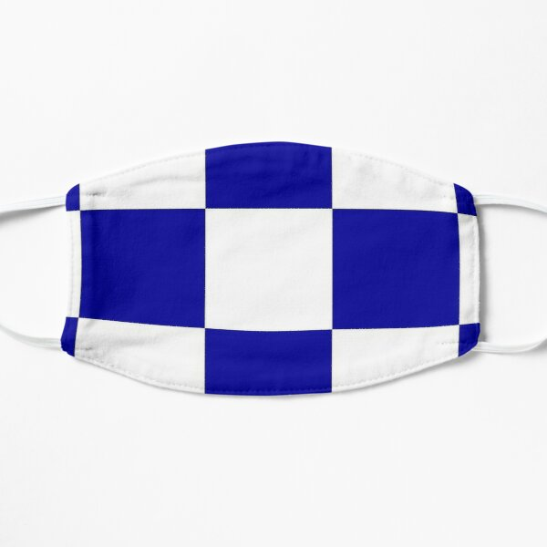 Blue & White 4 Mask