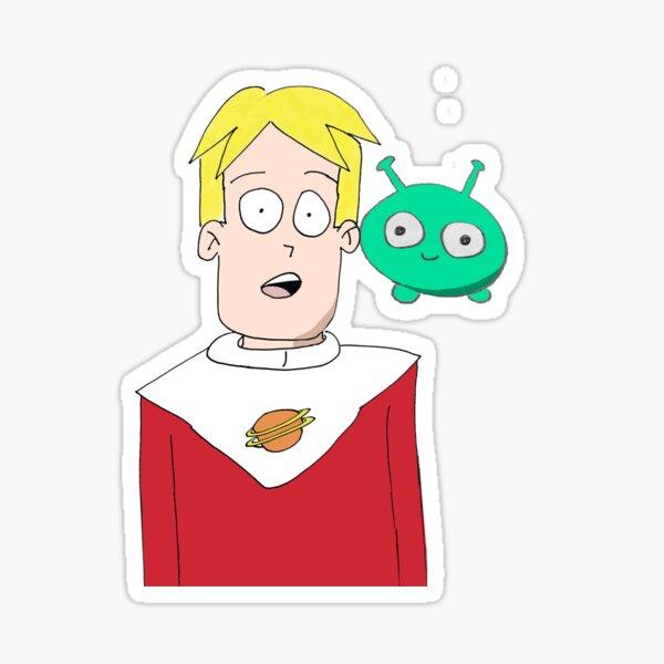 Gary in Final Space Sticker