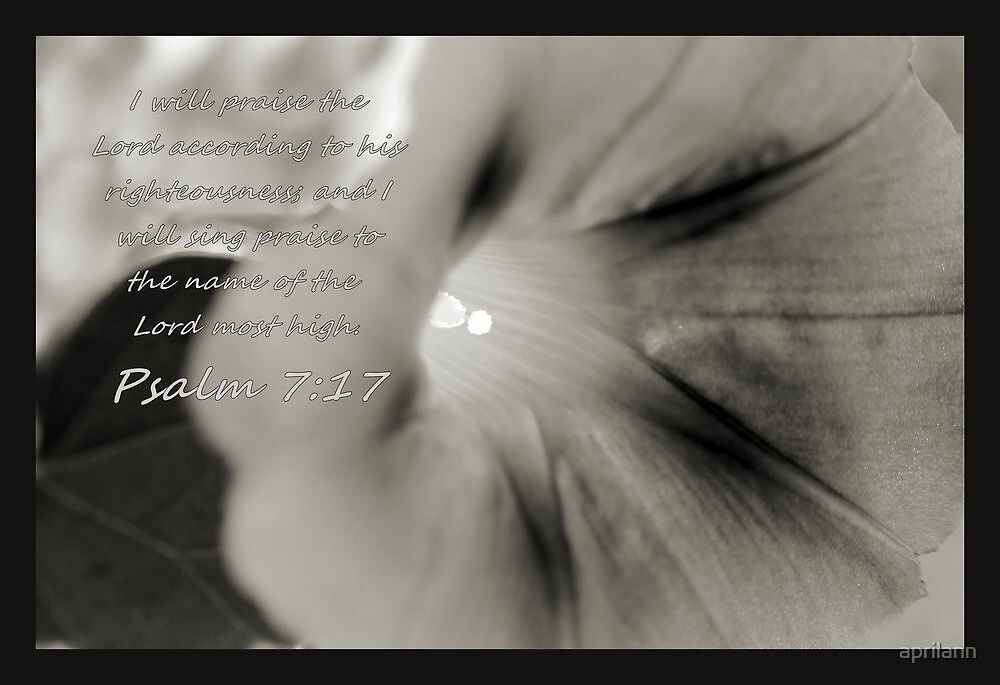I Will Praise the Lord.. by aprilann