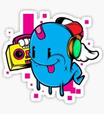 Dj Ghostly Sticker