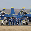 The Blues at Miramar by Barrie Woodward