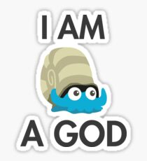 Twitch Plays Pokemon: I Am A God - Sticker Sticker