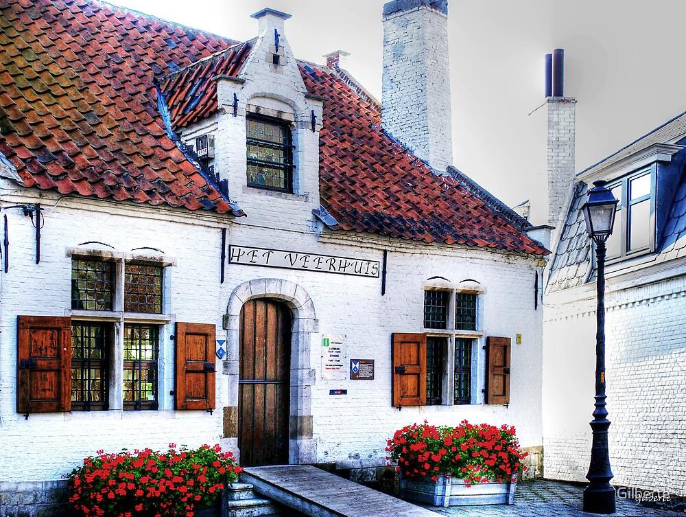 't Veerhuis - St Amands at the Scheldt - Belgium by Gilberte