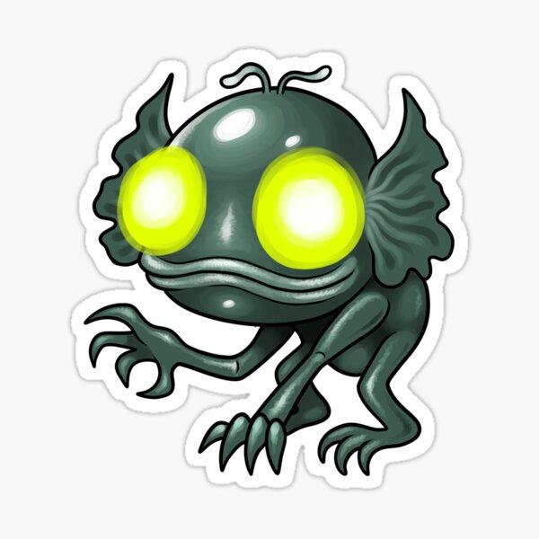 Hopkinsville Goblin Sticker