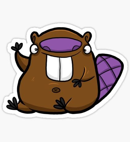 Creepies - Beaver Sticker