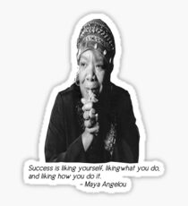 Maya Angelou Sticker