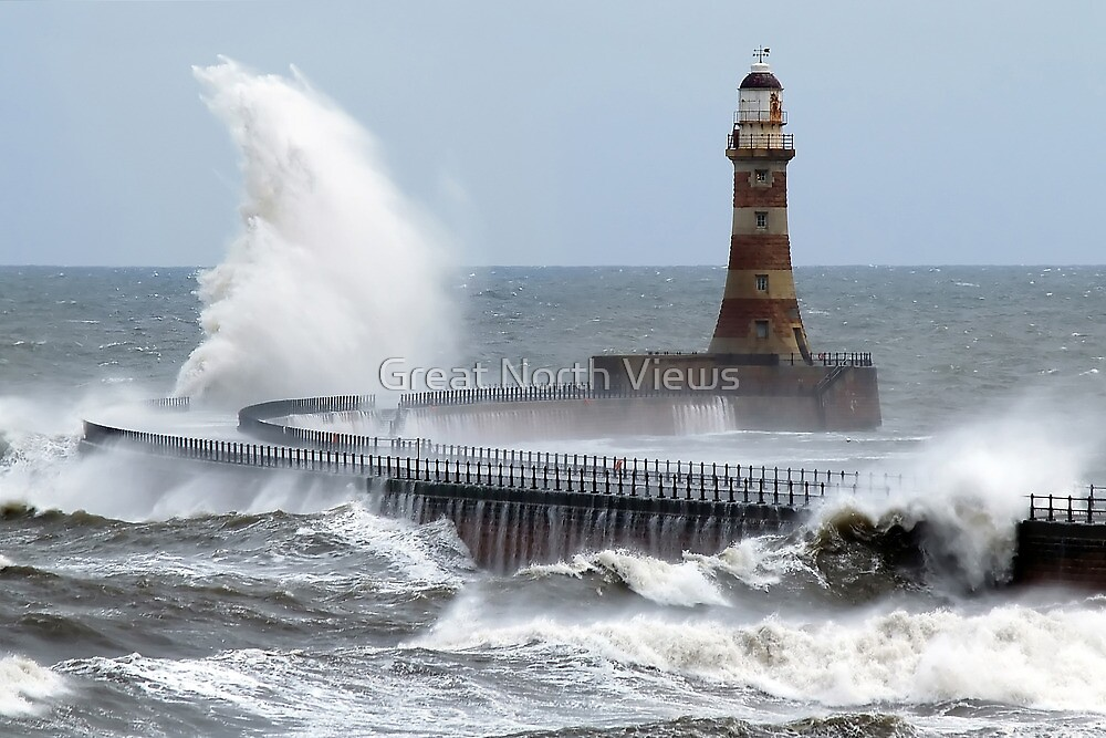 Roker Pier by Great North Views