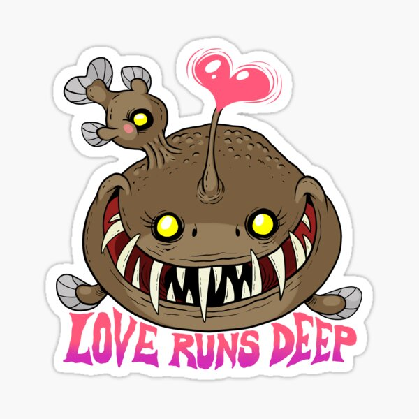 Love Runs Deep Sticker