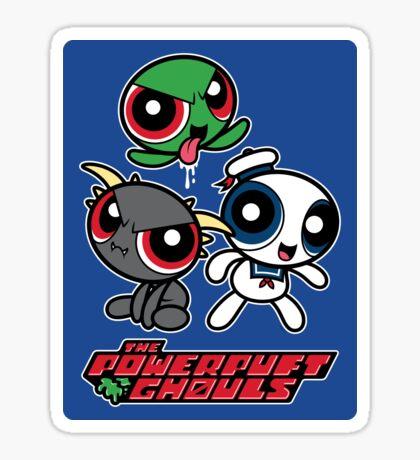 The Powerpuft Ghouls (STICKER) Sticker