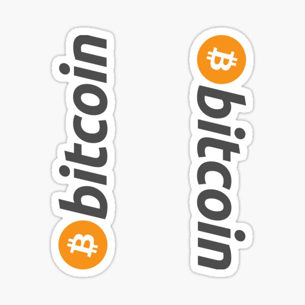 Bitcoin Sticker Sticker