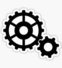 Gears Sticker