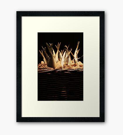 Fish Basket Framed Print