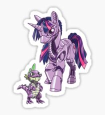 Mecha-Twilight Sticker