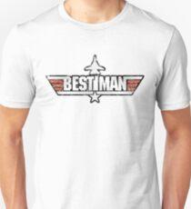 Top Gun Style Bachelor / Stag Party Shirt (Best Man) T-Shirt