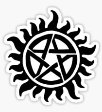 Anti Possession -Supernatural Tattoo Sticker