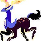 Pixel Xerneas by pixelatedcowboy
