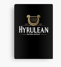 Hyrulean Stout Canvas Print