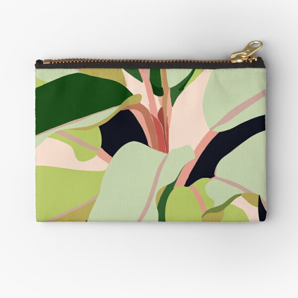 To Plant a Garden is to Believe in Tomorrow #painting #illustration Zipper Pouch