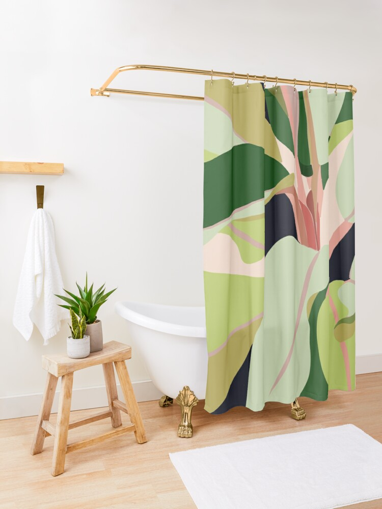 Alternate view of To Plant a Garden is to Believe in Tomorrow #painting #illustration Shower Curtain