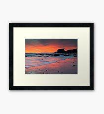 Sunrise At Marsden Framed Print