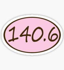 140.6 Ironman Triathlon Decal Sticker