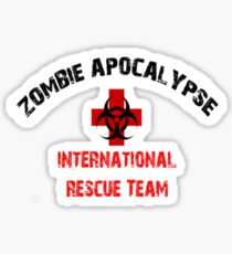 Zombie Response and Rescue Team Walkers Sticker