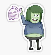 Regular Show / Muscleman & High-5 Ghost Sticker
