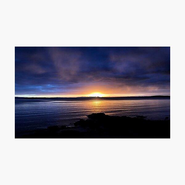 Sunrise on Jura  Photographic Print
