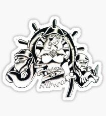 Scurvy Wench Sticker