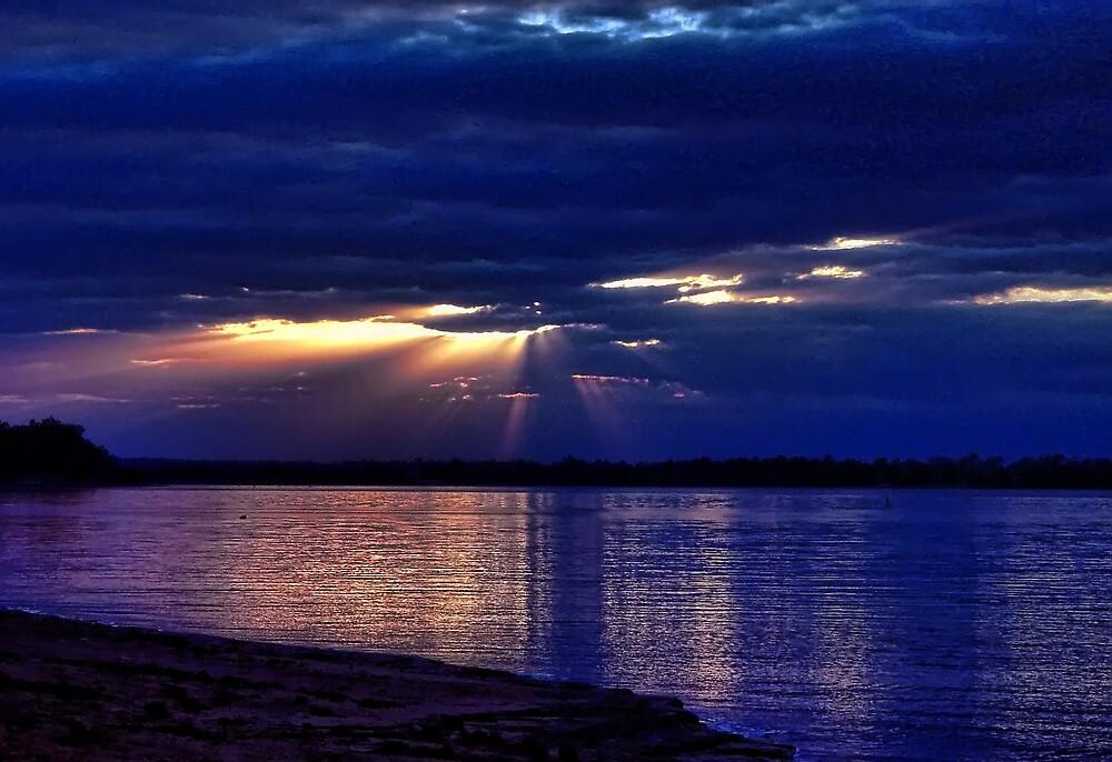 Spotlight On The Blues by Carolyn  Fletcher