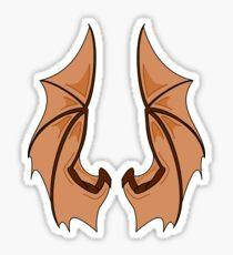 Batwings Sticker