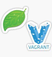 Coda and Vagrant Sticker