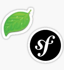 Coda and Symfony Sticker