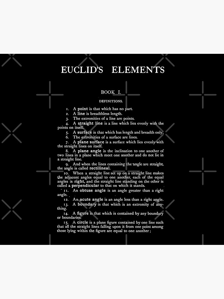 HIGH RESOLUTION The Thirteen Books of Euclid's Elements Euclid First Page by buythebook86