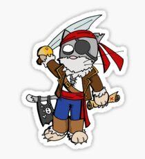 Pira cat (chat pirate) Sticker
