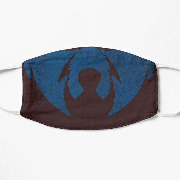 Blue vintage bear face mask Mask