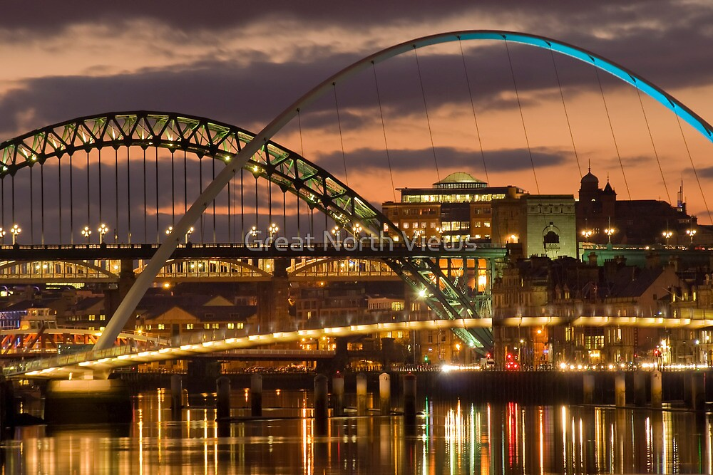 Tyne Bridges by Great North Views