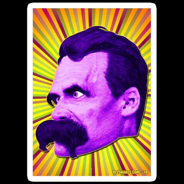 Nietzsche Burst 4 - by Rev. Shakes by Rev. Shakes Spear