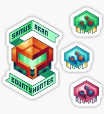 Samus Aran, Bounty Hunter Sticker