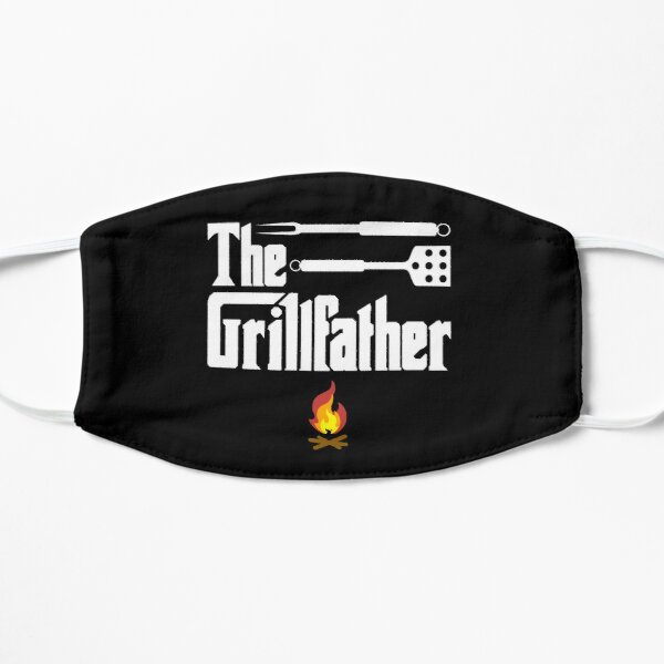 The Grillfather - BBQ Dad Flat Mask